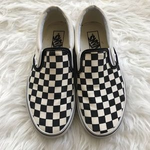 Vans Classic Checkered Board Slip-Ons
